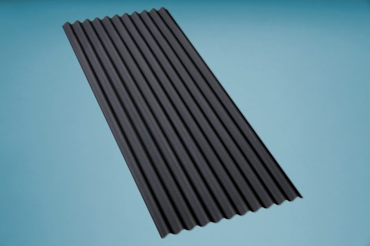 corrugated bitumen sheet K11 black