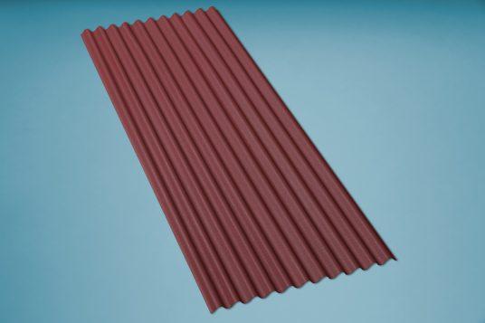 corrugated bitumen sheet K11 red