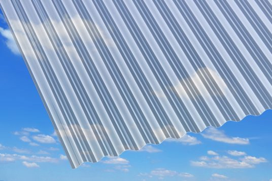 PVC corrugated sheets, microsinus