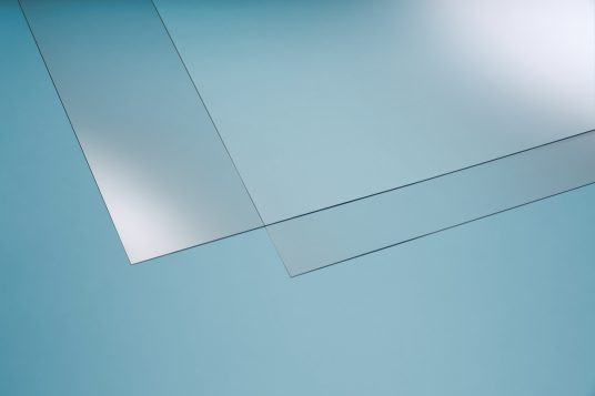 Acrylic glass clear 2 mm
