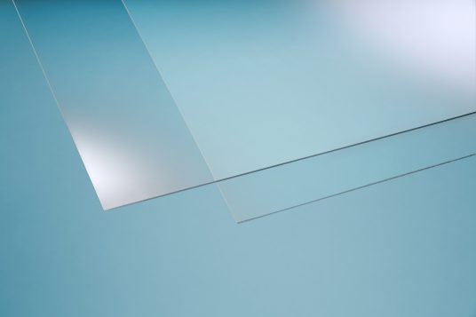 Acrylic glass clear 3 mm