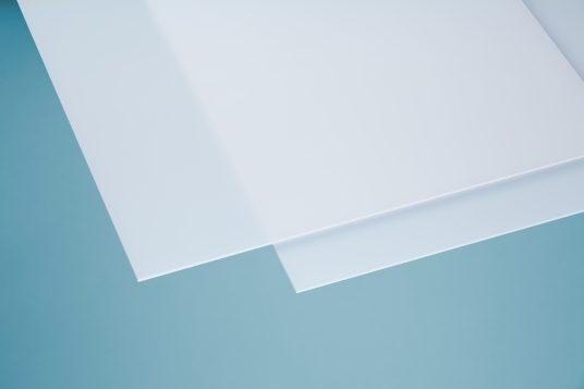 Acrylic glass softtone white opal64 3 mm