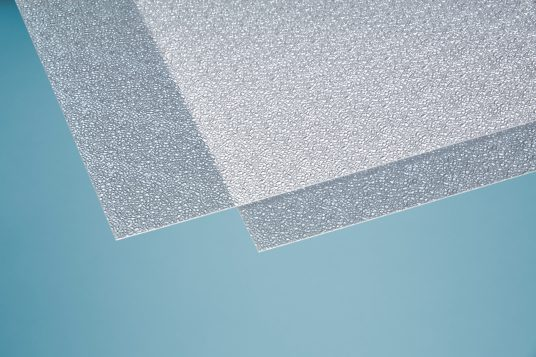 Polystyrene glass, crystal-clear, 2,5 mm