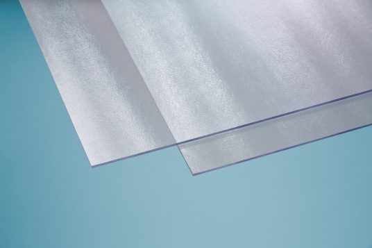 Polystyrene glass, cincilla, 5 mm clear