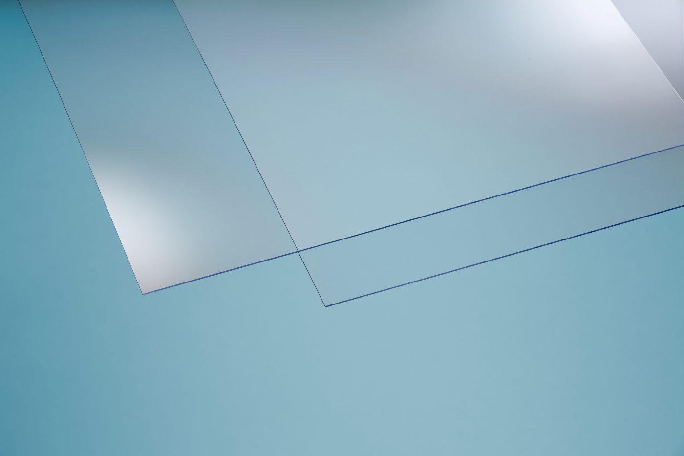 PVC Bastelplatten 250 x 500 mm, blau