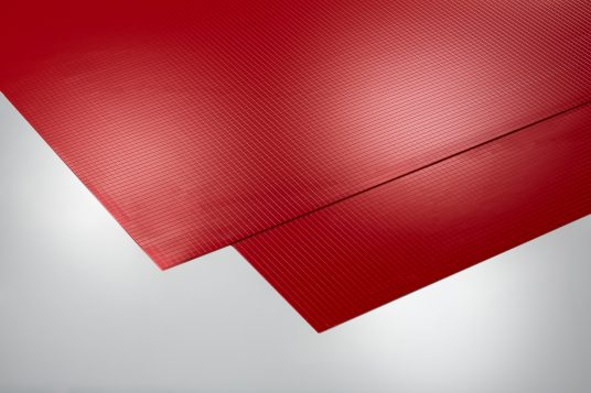 Self-adhesive decorative panels, flex, red