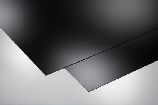Self-adhesive decorative panels, high glossy, piano-black
