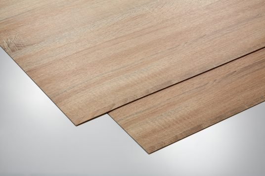 Self-adhesive decorative panels, oak