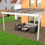 Premium terrace roof kit white 4x4m