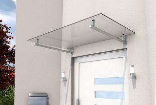 Stainless steel door canopy HD 160