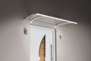 Panel canopy LED, white