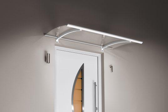 Panel canopy LED, white