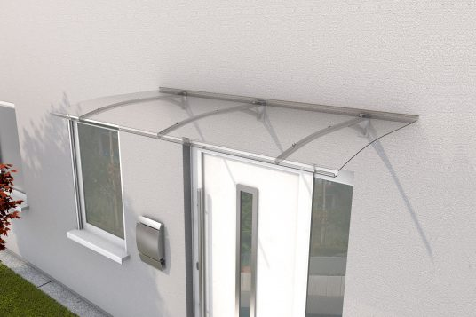 Panel Canopy PT Secco 200 stainless steel look