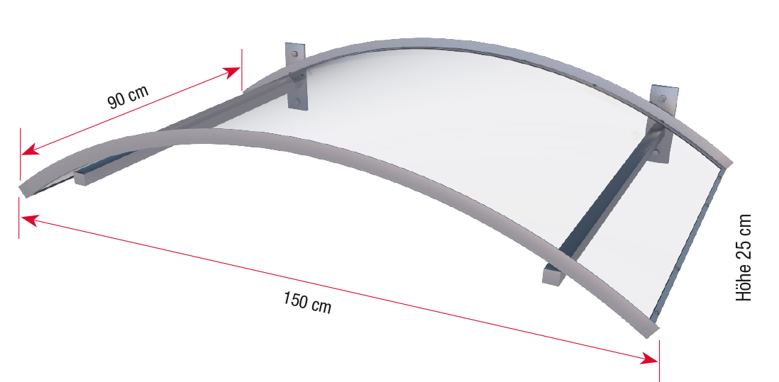 Arch canopy LED dimensions