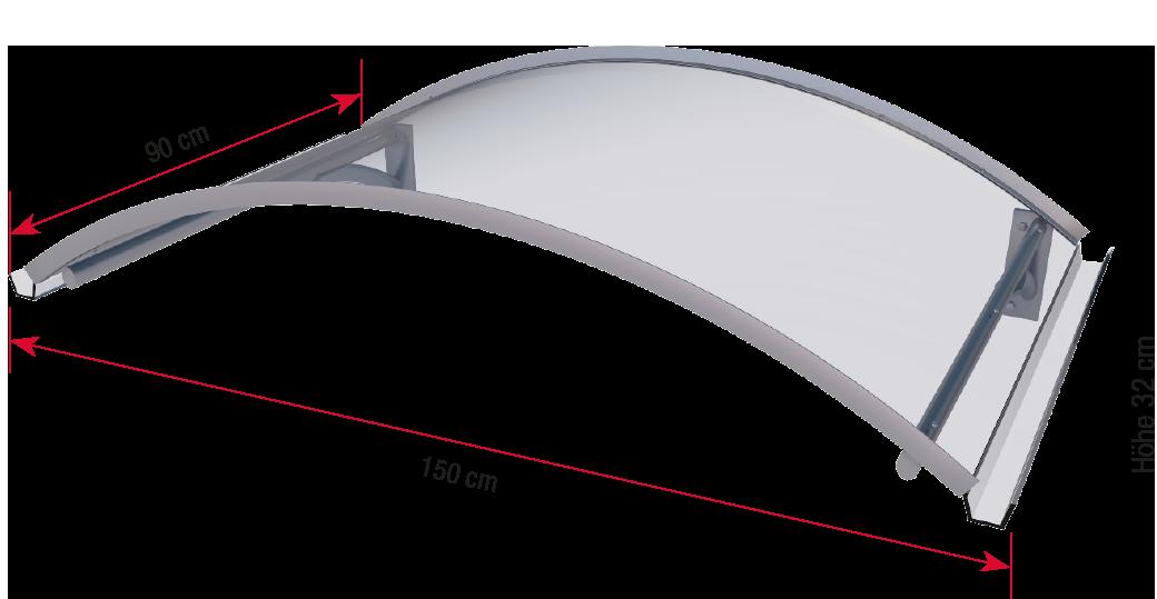 Arch canopy BV Secco dimensions
