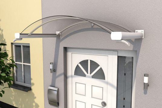 Arched canopy BV/B 160 white