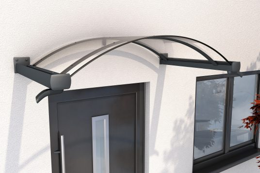 Arched canopy BV/B 160 anthrazite