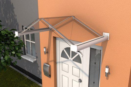 Gable canopy GV/T 160, white