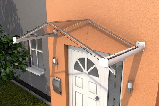 Gable canopy GV/T 200, white