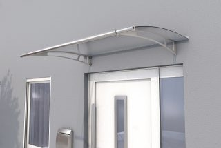 Panel canopy PT/L 150 stainless steel, clear