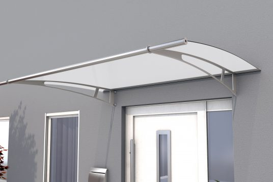 Canopy PT/XL, stainless steel, white