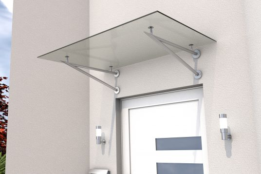 Stainless steel door canopy HD/V 140