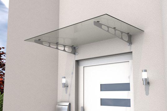 Stainless steel door canopy HD/LT 140