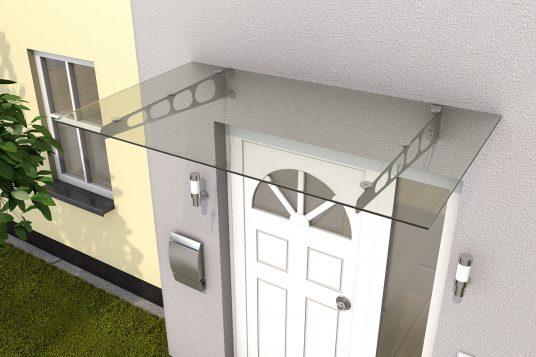 Stainless steel door canopy HD/LT 160