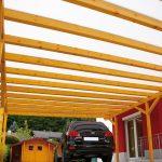 Carport mit Stegplatten Acryl