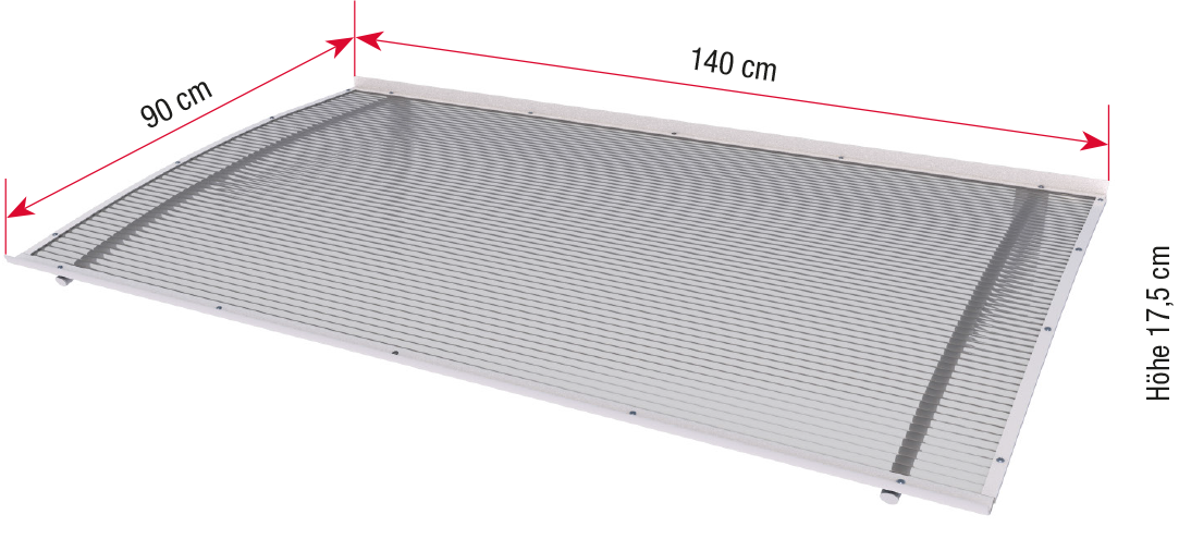 Promotion-Shield canopy dimensions
