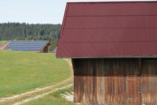 gutta corrugated bitumen sheets red