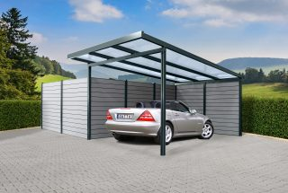 Premium Carport, anthrazite