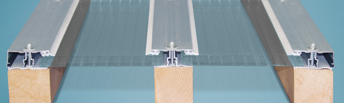 Aluminium Deckprofilsystem