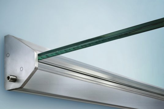 Glass canopy HD/LED, detail