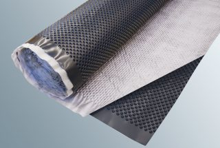 Dimpled sheet / Filter fabric drainage mat