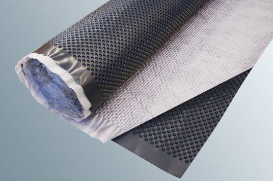 Dimpled sheet / Filter fabric drainage mat