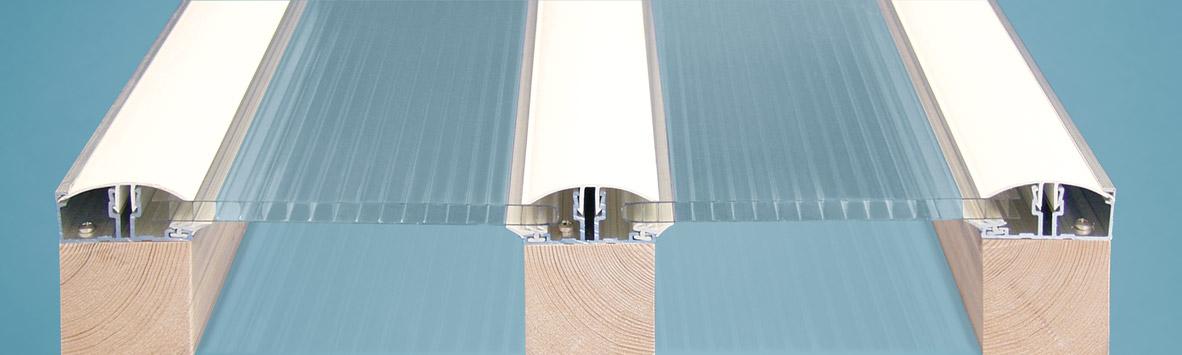 PVC Klemmprofilsystem