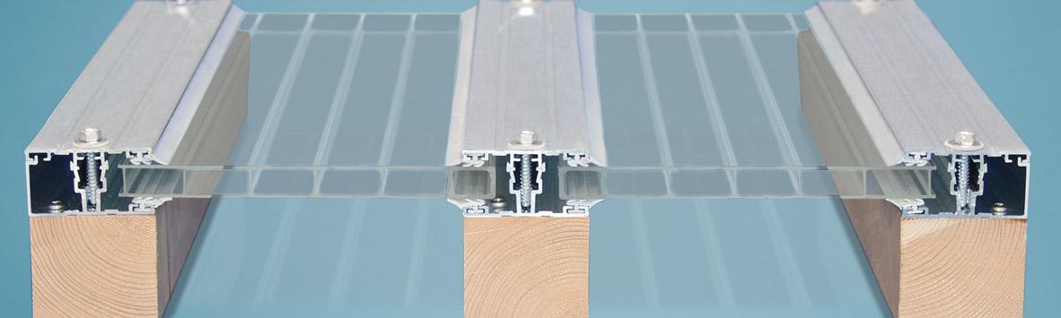 Aluminium Schraubprofilsystem