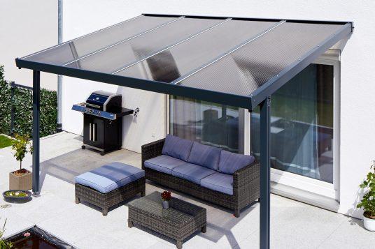 Premium terrace roof kit anthracite