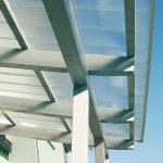 Terrassendach mit Hohlkammerpaneelen Polycarbonat