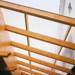 Hofüberdachung mit Hohlkammerpaneelen Polycarbonat