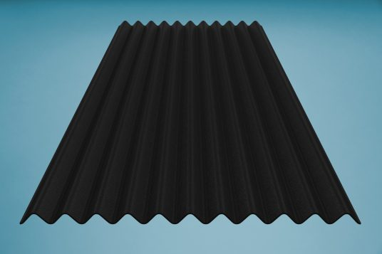 gutta K11 corrugated bitumen sheet black