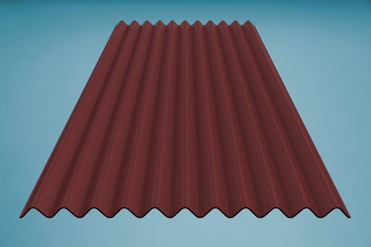 gutta K11 corrugated bitumen sheet red