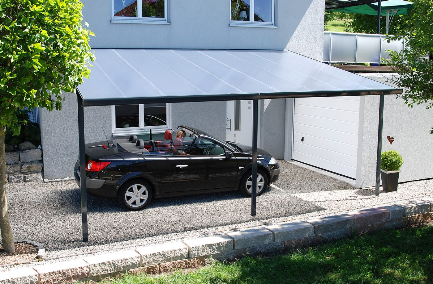 Carport construction kit