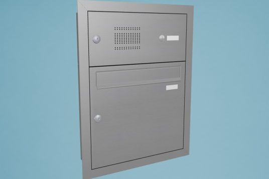 Mailbox system BKA Fuka-165 stainless steel