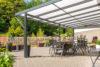 Premium terrace roof kit anthracite 8x5m