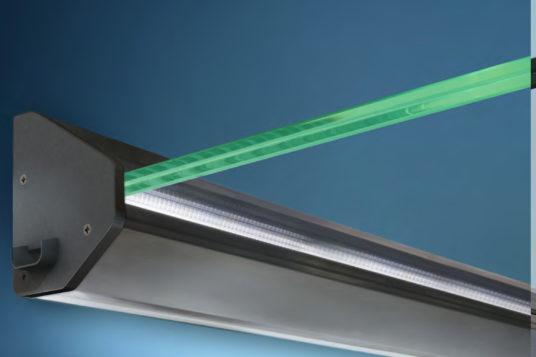Glass canopy HD/LED
